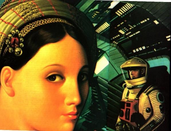 L'art et l'astronautique Erro-odyssey