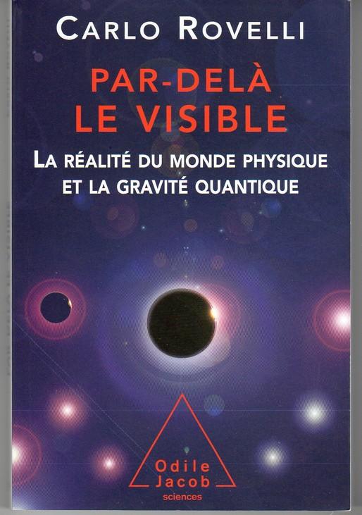 Livre de vulgarisation scientifique Rovelli