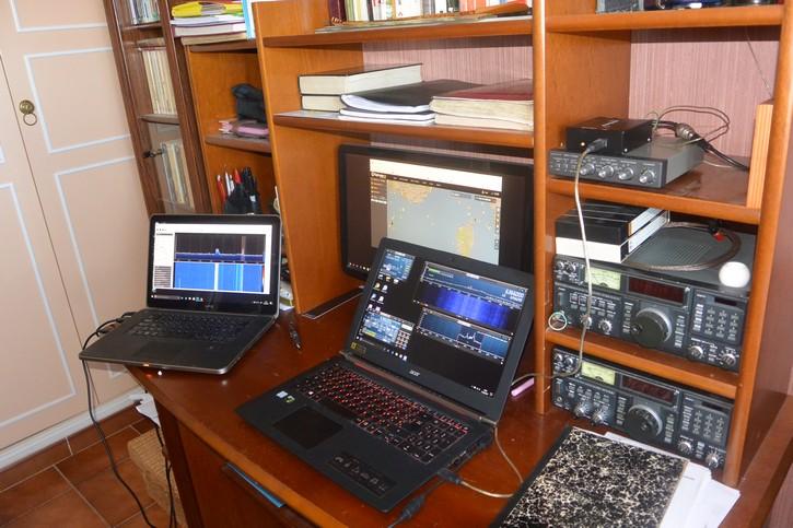 Contact radio avec l'ISS en ce moment Rsp2